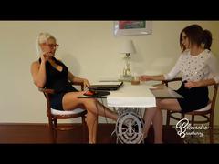 Blanche & Linda Sweet:  The secretary