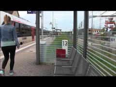 Lara Cumkitten Style - Public made at the station itself