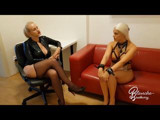 Blanche & Angel Wicky: Sie erstickt mich mit Titten!